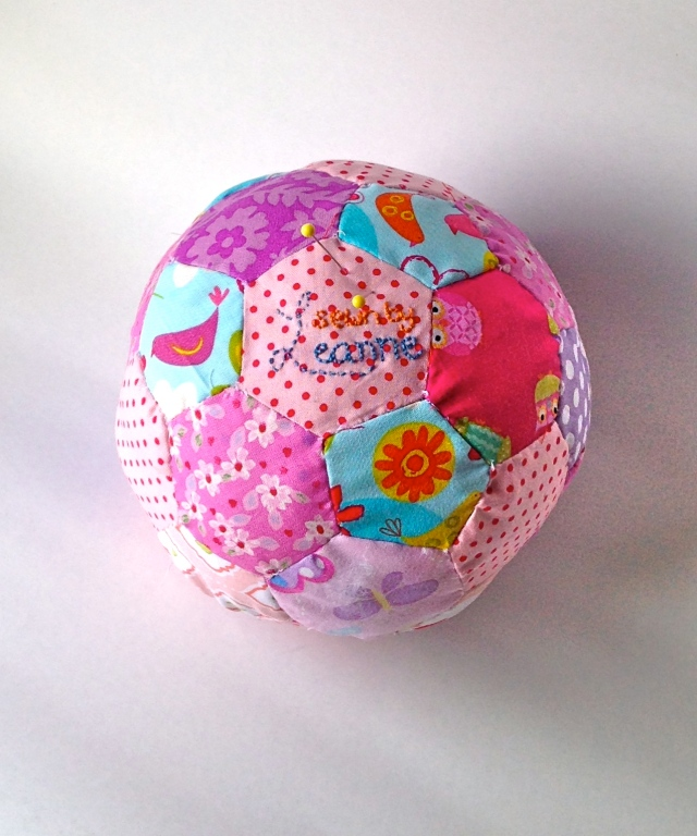 Hexagon Soccer ball Pin cushion !