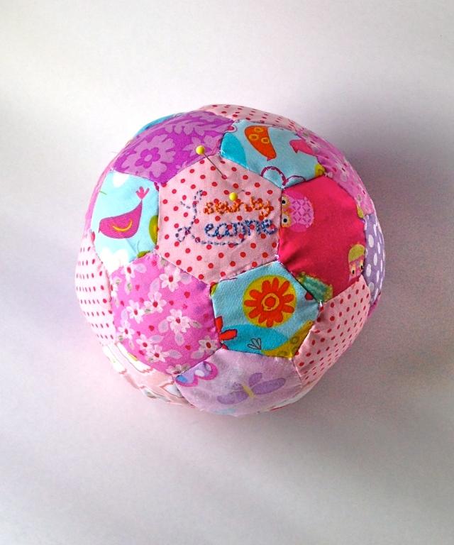 Hexagon Soccer ball Pin cushion !